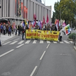 Manifestation contre l'austérité le 8 octobre 2015 photo n°2