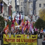 Manifestation contre l'austérité le 8 octobre 2015 photo n°9