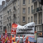 Manifestation de la fonction publique le 10 octobre 2017 photo n°3
