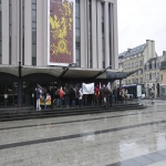 manifestation contre les expulsions locatives le 16 mars 2013 photo n°1
