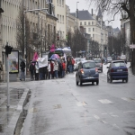 manifestation contre les expulsions locatives le 16 mars 2013 photo n°2