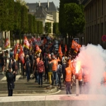Manifestation de la fonction publique le 22 mai 2018 photo n°26