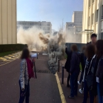 Action contre la sélection à l'Université le 23 février 2018 photo n°3