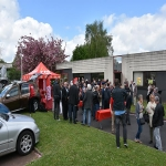 Inauguration du local CGT dans la nouvelle maison des syndicats le 25 avril 2018 photo n°1