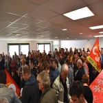 Inauguration du local CGT dans la nouvelle maison des syndicats le 25 avril 2018 photo n°9